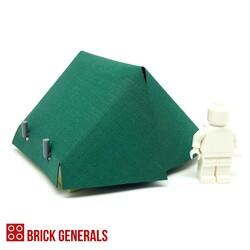 Custom Lego Minifig Accessory Outdoor Tent