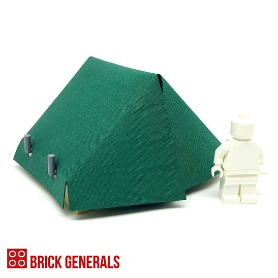 Custom Minifig Accessory Outdoor Tent