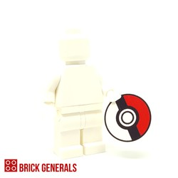 Lego Custom Accessory Giant Pokemon Ball