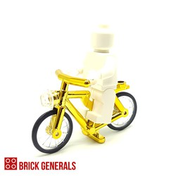 Third Party Lego Compatible Accessory Shiny Bicycle