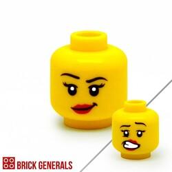 F02 - Grin / Grimace Face