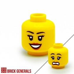 F06 - Smiling / Sad Face