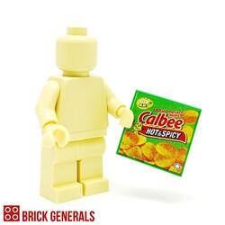 Custom Lego Minifig Accessory Calbee Potato Chips