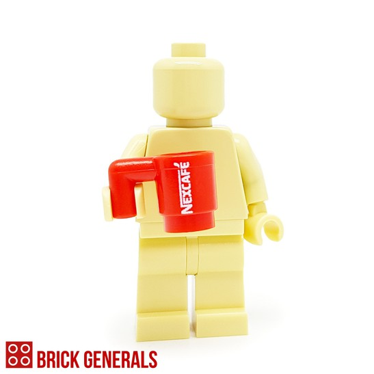 Custom Minifig Accessory Nexcafe Coffee
