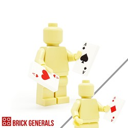 Custom Minifig Accessory Poker Cards