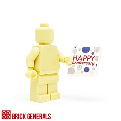 Custom Minifig Accessory Happy Anniversary 2