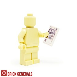 Custom Lego Minifigure Accessory Singapore Dollars