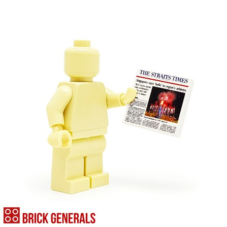 Custom Lego Minifig Accessory The Straits Times