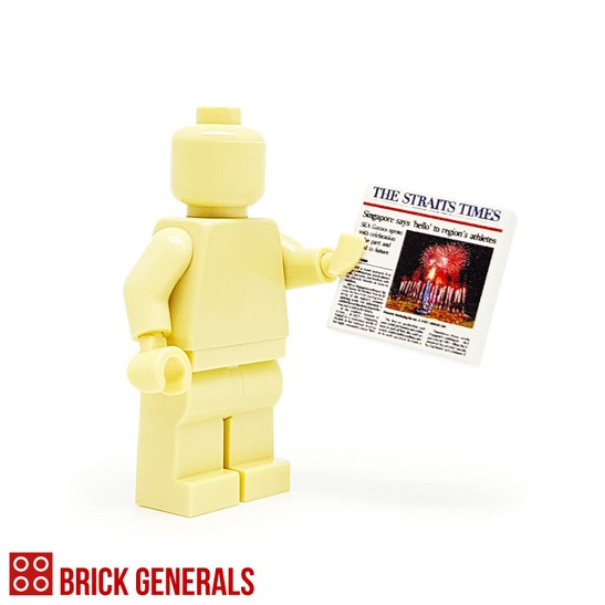 Custom Minifig Accessory The Straits Times
