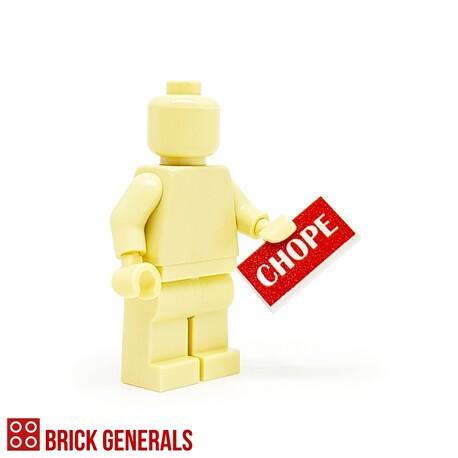 Custom Lego Minifig Accessory Chope!