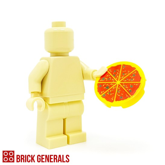 Custom Minifig Accessory Pizza