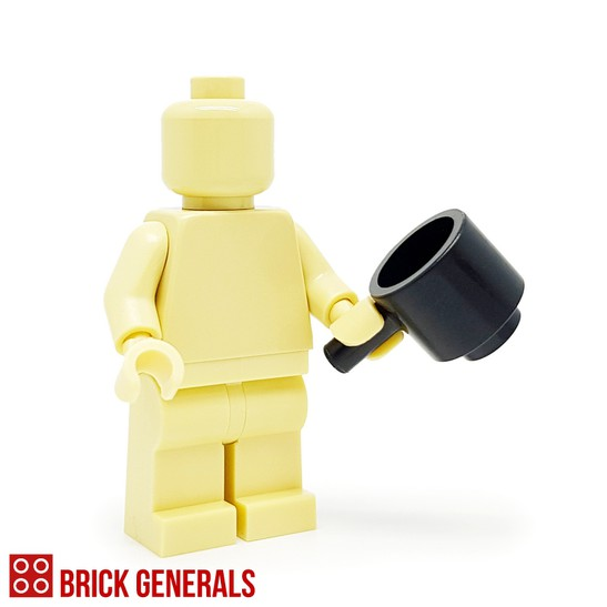 Custom Minifig Accessory Cooking Pot