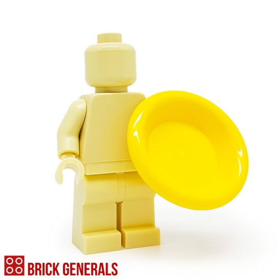 Minifig Accessory Utensil Plate
