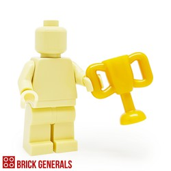 Lego Minifig Accessory Utensil Trophy