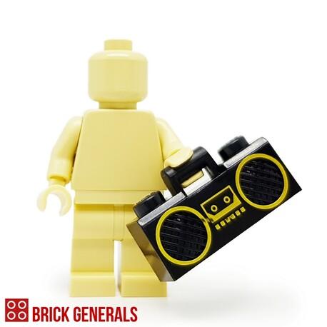 Lego Minifig Accessory Utensil Boom Box
