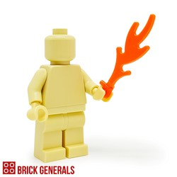 Lego Minifig Accessory Utensil Flame