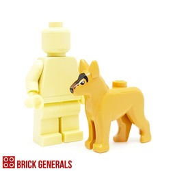 Minifig Accessory Animal Dog