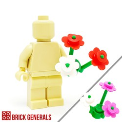 Minifig Accessory Plant Flowers