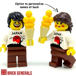 Custom Minifigure I Love Mount Fuji! by Brick Generals