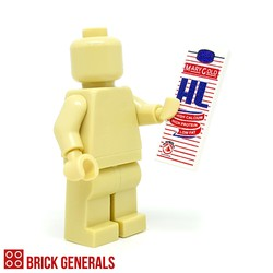 Custom Minifig Accessory Milk