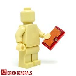 Custom Lego Minifig Accessory Clutch