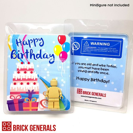 Brick Generals Birthday Clamshell Packaging