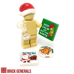 Brick Generals Custom Accessories Xmas Survival Pack