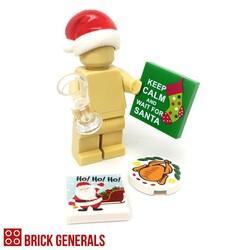 Brick Generals Custom Lego Accessories Xmas Survival Pack