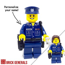 Custom Minifig SPF Police Officer