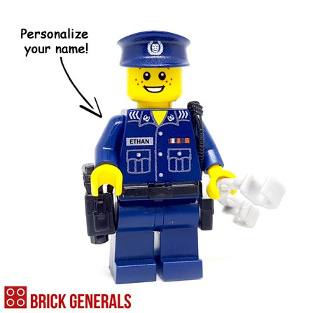 Custom Lego Minifig SPF Police Officer