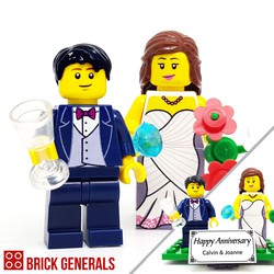 Custom Minifig Fairytale Wedding