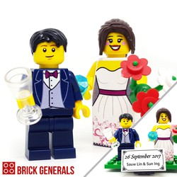 Custom Minifig Our Dream Wedding