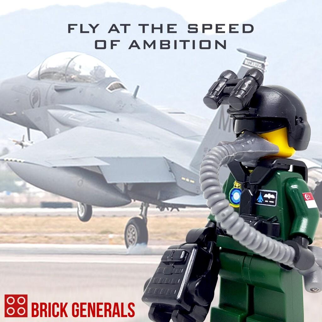 Custom Minifigures Singapore Republic of Singapore Air Force