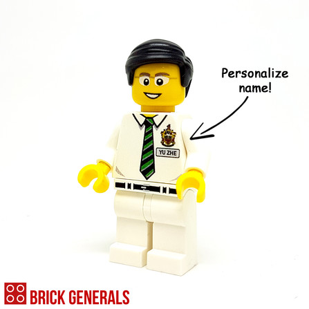 Custom Lego Minifig Elite Junior College Student