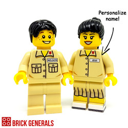 Custom Lego Minifig Prestige Junior College Student