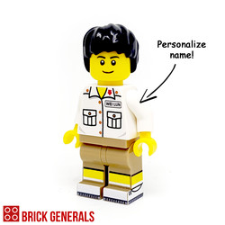 Custom Minifig Chinese High School Student