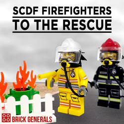 SCDF Firefighters to the Rescue