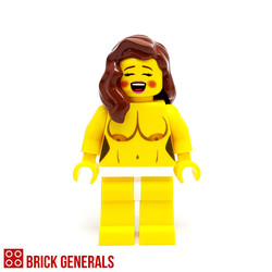 Custom Minifig Hot Babe 2