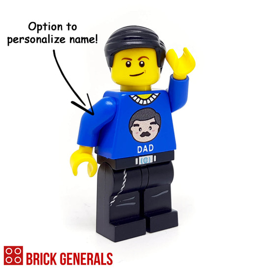 Custom Minifigure Dad