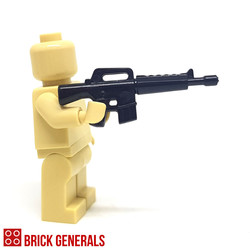 Custom Minifig Accessory M16 Assault Rifle