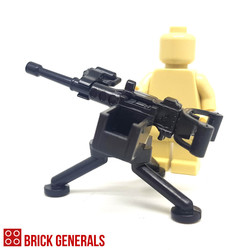 Custom Minifig Accessory Minigun