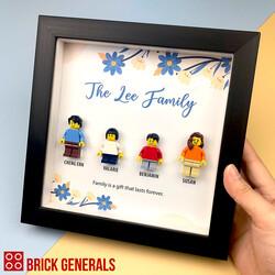 Blossom Lego Minifigure 3D Frames