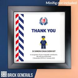Police Display Frame (Frame only)