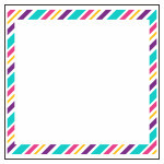 Stripes border (3D frame)
