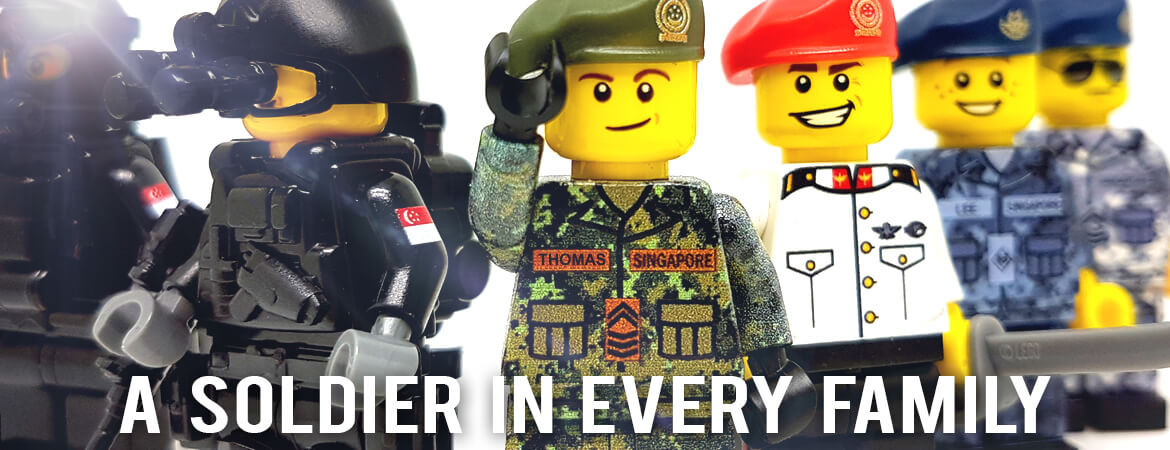 Custom Singapore Armed Forces Minifigures