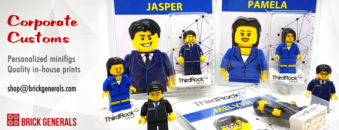 Custom Corporate Designs Minifigures