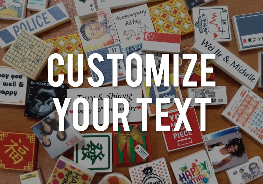 Customize your message