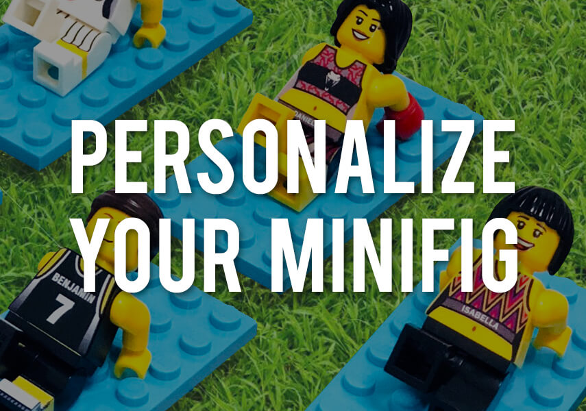 Personalize your minifigure